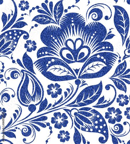 niebieski-folkowy-kwiatowy-ornament-na-bialym-tle