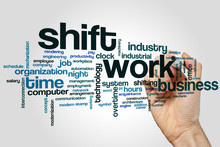 Shift Work Word Cloud
