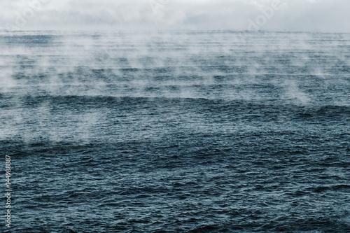 Cadres-photo bureau Mer / Ocean Evaporation of Barents Sea, Arctic Ocean.