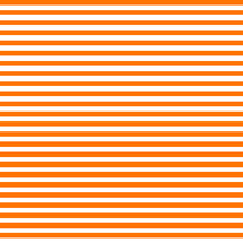 Pattern Stripe Seamless Orange And White Colors. Horizontal Stripe Abstract Background Vector.