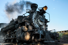 Fired Up Steam Locomotive