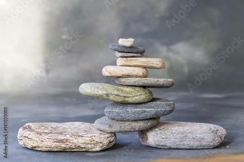 Plakat Kamień Zen