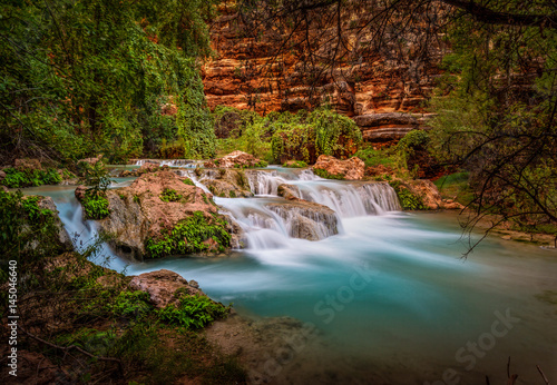 Cuadros en Lienzo Intimate closeup of this almost sacred Havasu Creek