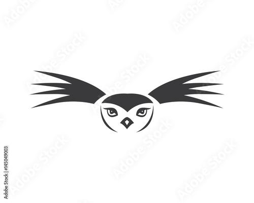 Photo Stands Owls cartoon Owl Logo