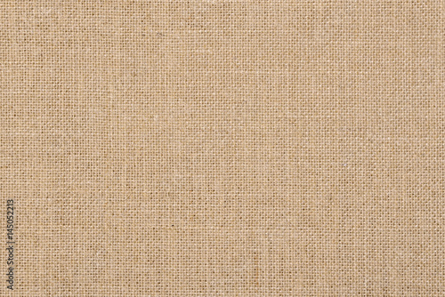 A background of a scratchy burlack material in an even light brown color Canvas Print
