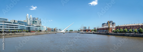 Poster Buenos Aires Panoramic view of Puerto Madero - Buenos Aires, Argentina