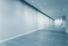 Empty Corridor In Modern Office