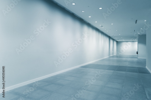 Photo empty corridor in modern office