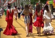 April Fair In Seville,Spain
