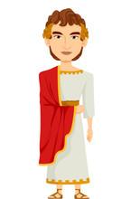 Man Roman Emperor Costume
