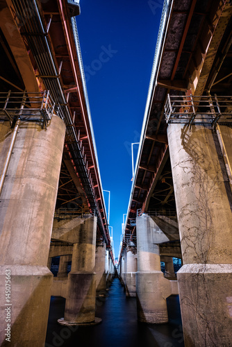 Photo  Hangang Bridge in Seoul