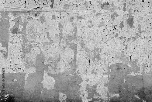 Foto auf AluDibond Alte schmutzig texturierte wand Metal texture with scratches and cracks