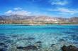 Famous Elafonisi beach, Crete, Greece