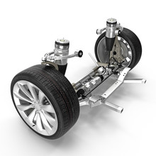 Electric Car Front Axle With N...