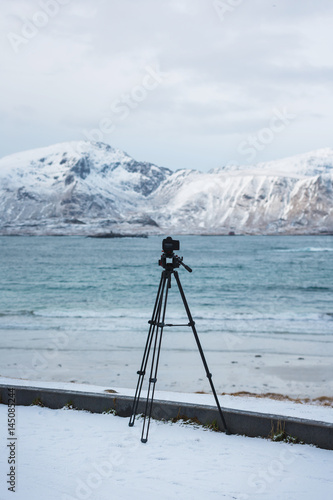Shooting in the Lofoten Islands