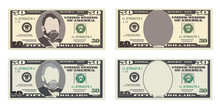 USA Banking Currency, Cash Sym...