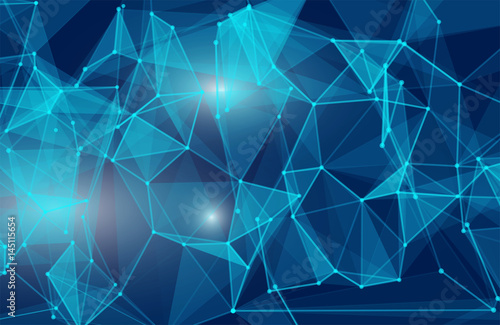 abstrakcyjne-tlo-z-niebieskich-trojkatow-3d