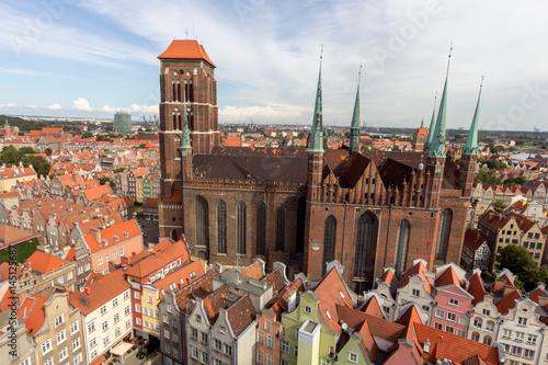 Fototapety, obrazy: St. Mary's Church in Gdansk, Poland
