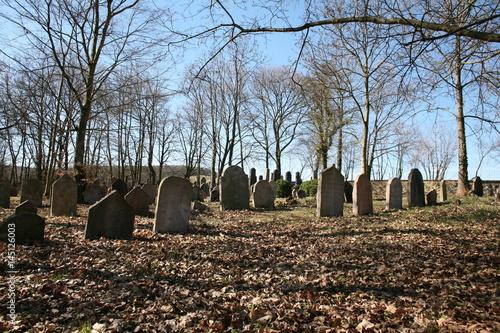 Keuken foto achterwand Begraafplaats old jewish cemetery
