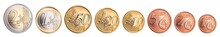 Complete Set Of Euro Coins Iso...