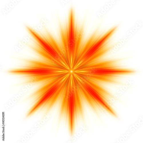 Stella di fuoco, fiamme Poster