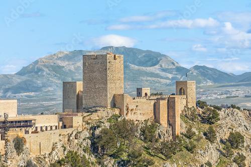 Castle of Santa Catalina in Jaen