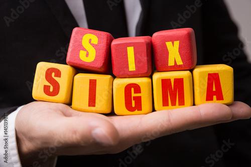Fotografie, Obraz  Six Sigma