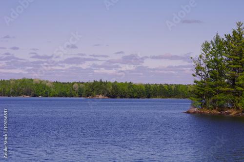 Poster Lac / Etang Grand Lake Matagamon near Katahdin