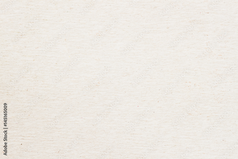 Fototapety, obrazy: Texture of old organic light cream paper, background for design with copy space text or image. Recyclable material, Natural rough, has small inclusions of cellulose