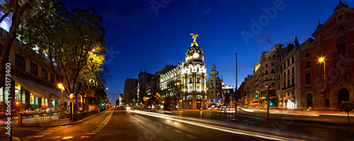 Foto op Aluminium Madrid Classic Madrid view