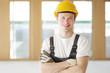Handwerker in einem Gebäude