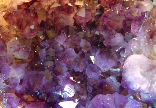 Purple Amethyst Gemstone Background