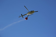 Firefighting Helicopter With W...