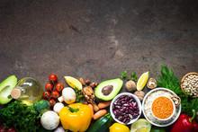 Balanced Diet. Organic Vegan F...