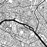 Paris France Vector Map - 145214625