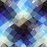 Seamless background. Geometric abstract pattern in a low poly style.