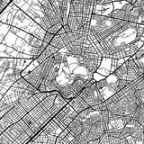 Athens Greece Vector Map - 145216296