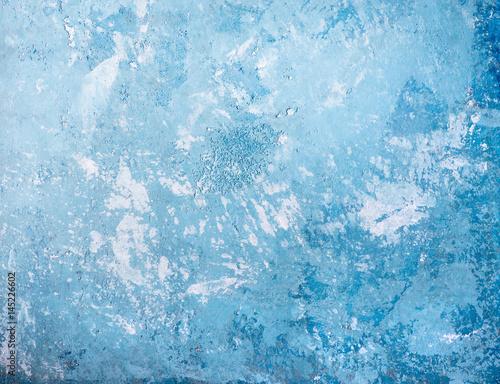 Foto auf AluDibond Himmelblau Blue grunge texture of concrete