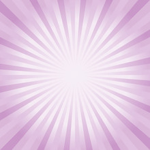 Abstract Background. Soft Purple Violet Rays Background. Vector EPS 10, Cmyk