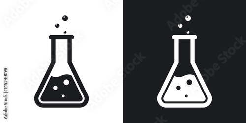 Fotografia  Vector lab flask icon