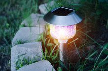 Garden Lights With Solar Battery
