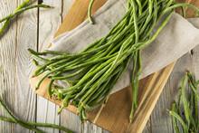 Raw Green Organic Chinese Long...