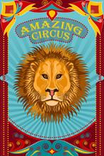Vintage Retro Circus Party Ban...