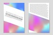 Abstract vector layout background set. For art template design, list, page, mockup brochure theme style, banner, idea, cover, booklet, print, flyer, book, blank, card, ad, sign, sheet,, a4