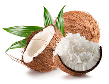 Coconuts With Coconut Flakes I...