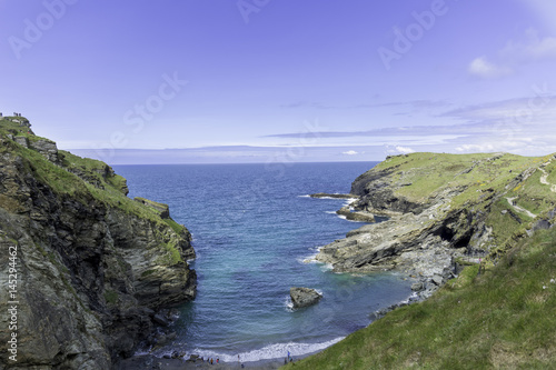 Photographie  Tintagel Castle