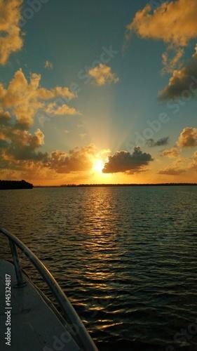 Papel de parede  Sunset. Taken at Vaza Barris River, Brazil