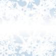 Ornamental Snowflakes Background