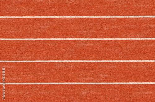 Fotografía  Running track in top view.
