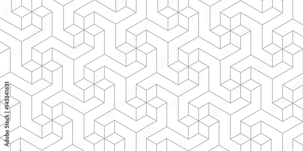 Fotografija Unreal texture, gray cubes, 3d geometric pattern, design